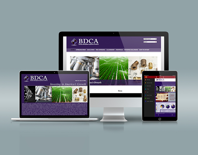 BDCA Non-Traded REIT Website