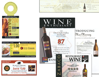 Gallo Wine Promotional Materials