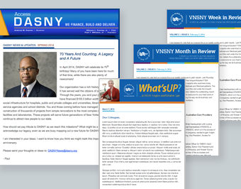 DASNY and VNSNY Email Communications